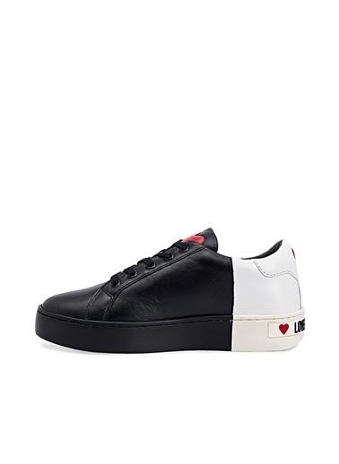 Love Moschino   Sneaker Ayakkabı Kadın Ayakkabı Ja15123G1Cıa100A Siyah